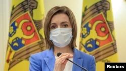 Молдова президенти Майя Санду