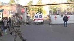 Yaralı erməni hərbçiləri hospitala yerləşdirilir