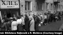 """""""Coadă"""" după pâine în URSS"""