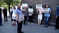 Խծաբերդից գերեվարվածների ծնողները Երևանում էին խնդրանքով՝ ավելի ակտիվացնել գերիներին վերադարձնելու ուղղությամբ տարվող աշխատանքները