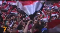 Opposing Protests Held In Cairo