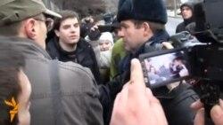Москва - протест