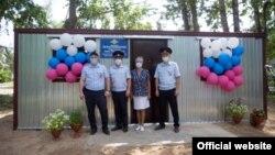 Открытие отдела полиции.