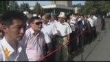 Бишкекте июнь коогалаңы эскерилди