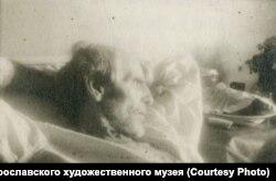Михаил Соколов в больнице. Москва. 1946 г.