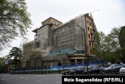 საბჭოთა არქიტექტურა კოსტავას ქუჩაზე