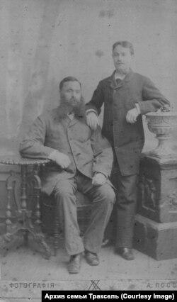 Йоханнес с сыном Вернером