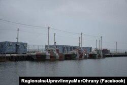 В Бердянске обустраивают места расположения и несения службы подразделений Морской охраны - дивизиона катеров и отделов специальных действий