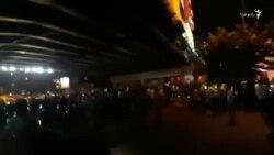 ویدئوی دریافتی از اعتراضها در کرج/ ۱۱ مرداد