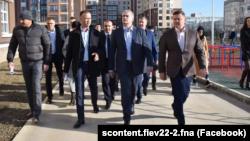 Михаил Храмов, Сергей Аксенов и Евгений Кабанов