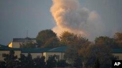 استپانکرت، مرکز ناگورنو-قرهباغ در پی بمباران