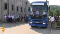 Srebrenica Victims' Remains Arrive In Potocari