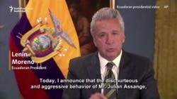 Ecuadoran President: Asylum For 'Discourteous and Aggressive' Assange 'No Longer Viable'