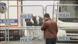 Istraga na mestu napada u Ankari