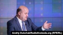 Валерій Чалий у студії Радіо Свобода