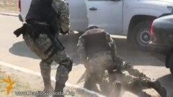 Як бійці Національної гвардії затримували «диверсантів»