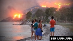 Лесные пожары в Турции, август 2021 года