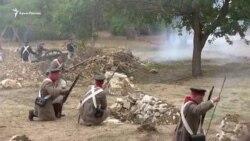 Севастополь: историческая реконструкция «сражения русских войск с неприятелем» (видео)