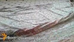 Бузургтарин қолини дастбофи эрониро дар Душанбе намоиш доданд.