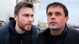 Belarus — Journalists Andrej Rabchyk, Andrej Shauliuha
