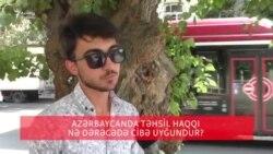 Təhsil haqqı cibə uyğundurmu?