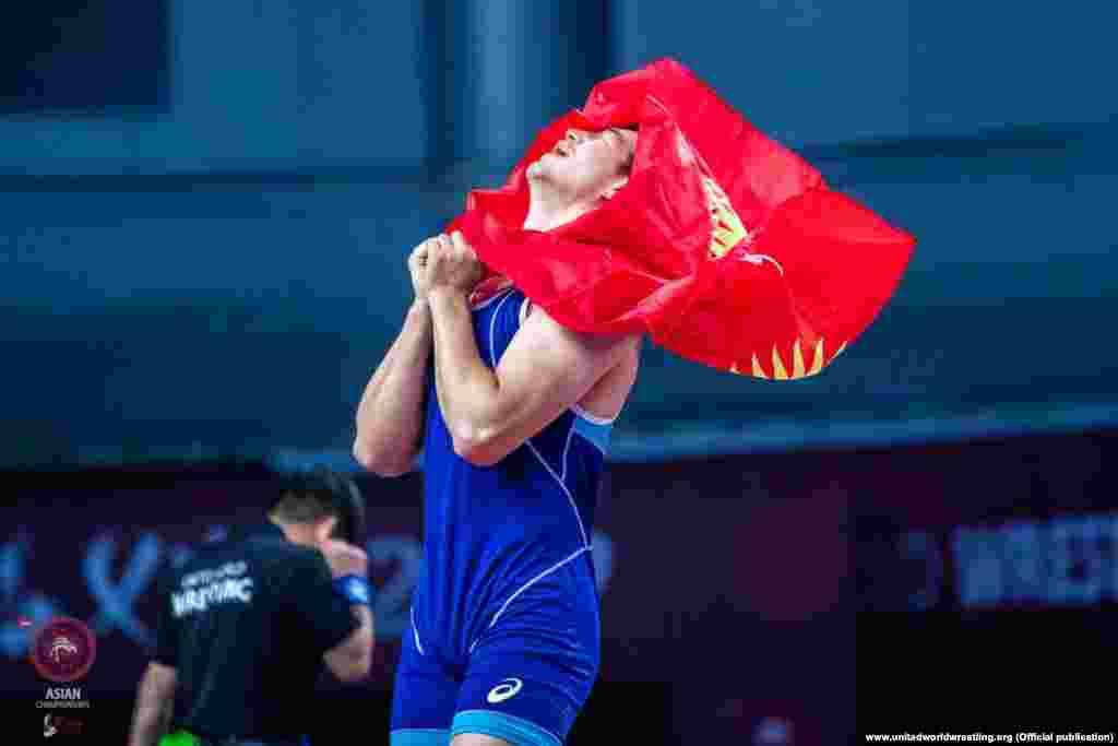 Балбан Үзүр Жусупбеков 2-августта грек-рим күрөшүнөн 97 килограммга чейинки салмакта Кыргызстандын намысын коргойт.