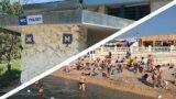 Пляжи Севастополя в июле 2021 года. Фотоколлаж