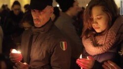 No Words: Memorial Rally In St. Petersburg