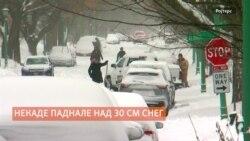 Снежно невреме во САД