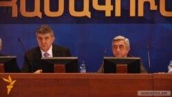 Համաշխարհային հայկական կոնգրեսը սատարելու է գործող նախագահին