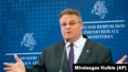 گابریلیوس لندز برگیس، وزیر خارجه لیتوانیا