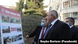 Бойко Борисов в УНСС на 2 април 2021 г.