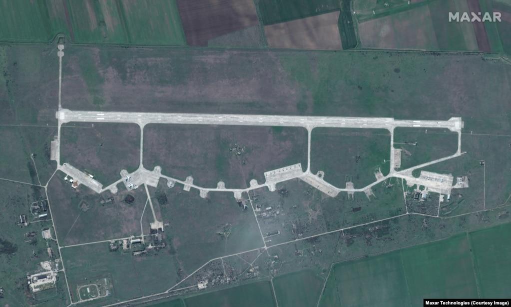Baza ajrore Kirovskoye në Gadishullin e Krimesë.