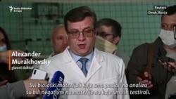 Slučaj Navaljni: Nije pronađen otrov u analiziranim materijalima