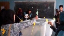Afghans Vote In Mazar-e Sharif