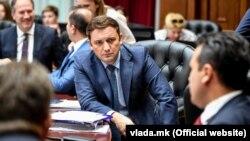 Министерот за надворешни раобти и портпарол на ДУИ, Бујар Османи.