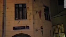 Посольство Турции в Москве закидали камнями (видео)