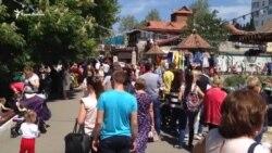 За борщем черга. Як пройшов фестиваль кухонь у Криму (відео)