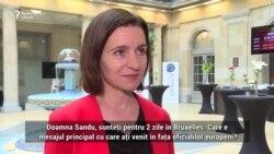 Maia Sandu: Lupta împotriva corupţiei se limitează la ţinte alese
