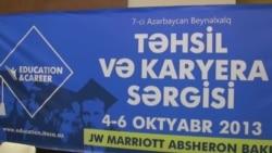 Təhsil və karyera sərgisi başladı