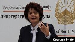Министерката за култура Ирена Стефоска