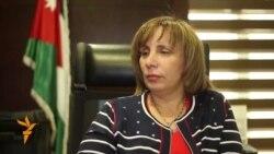 حوار مع وزيرة النقل الاردنية