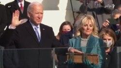 جو بایدن ۴۶مین رییس جمهور امریکا شد
