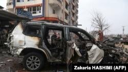 Напад со автомобил бомба во Авганистан. Архивска фотографија.