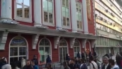 Na protestu u Skoplju zapaljene slike predsjednika
