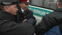 Second Day Of Protests In Kazakhstan