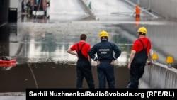 Як затопило Київ – фотогалерея