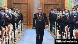 امام علی رحمان رئیس جمهور تاجیکستان