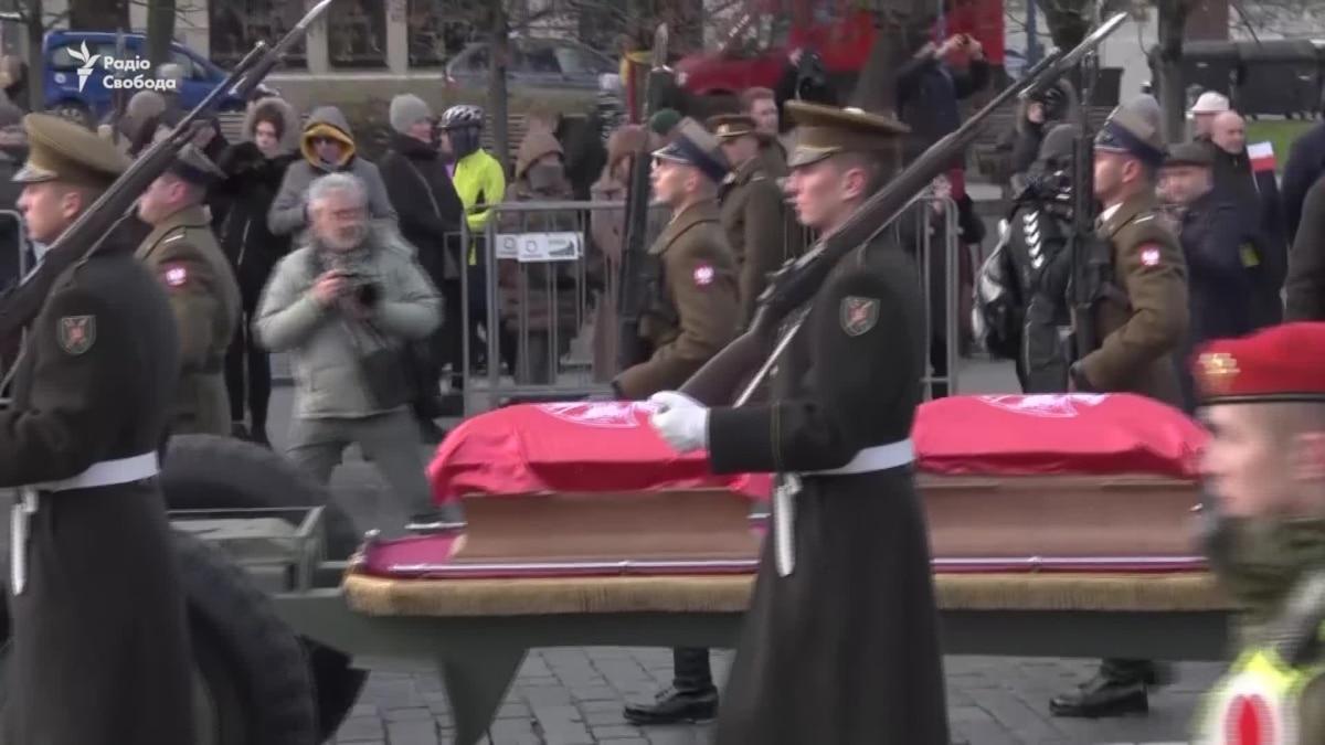 В Литве состоялась церемония перезахоронения участников антицарського восстания 1863-64 годов – видео