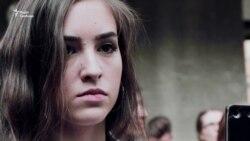 Студенти Києво-Могилянської академії виступають проти насилля